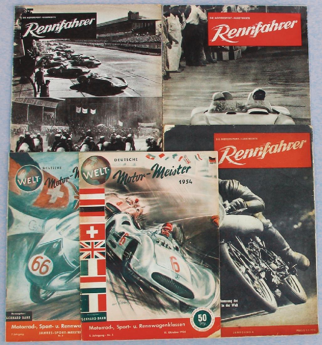 "mixed lot with 5 pieces, No. 1: magazine ""Deutsche"