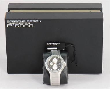 PORSCHE men's watch Flat Six chronograph, Porsche