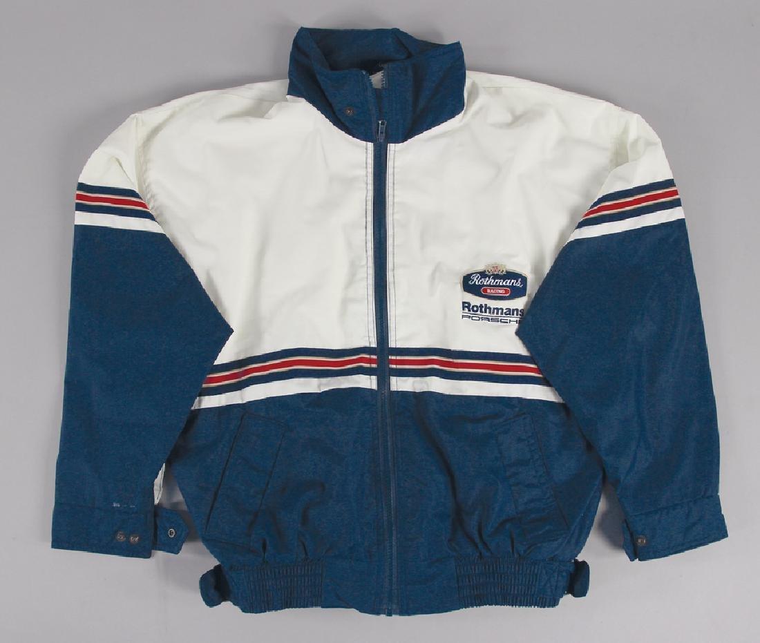 PORSCHE/ROTHMANS team jacket, Porsche/Rothmans-Racing,