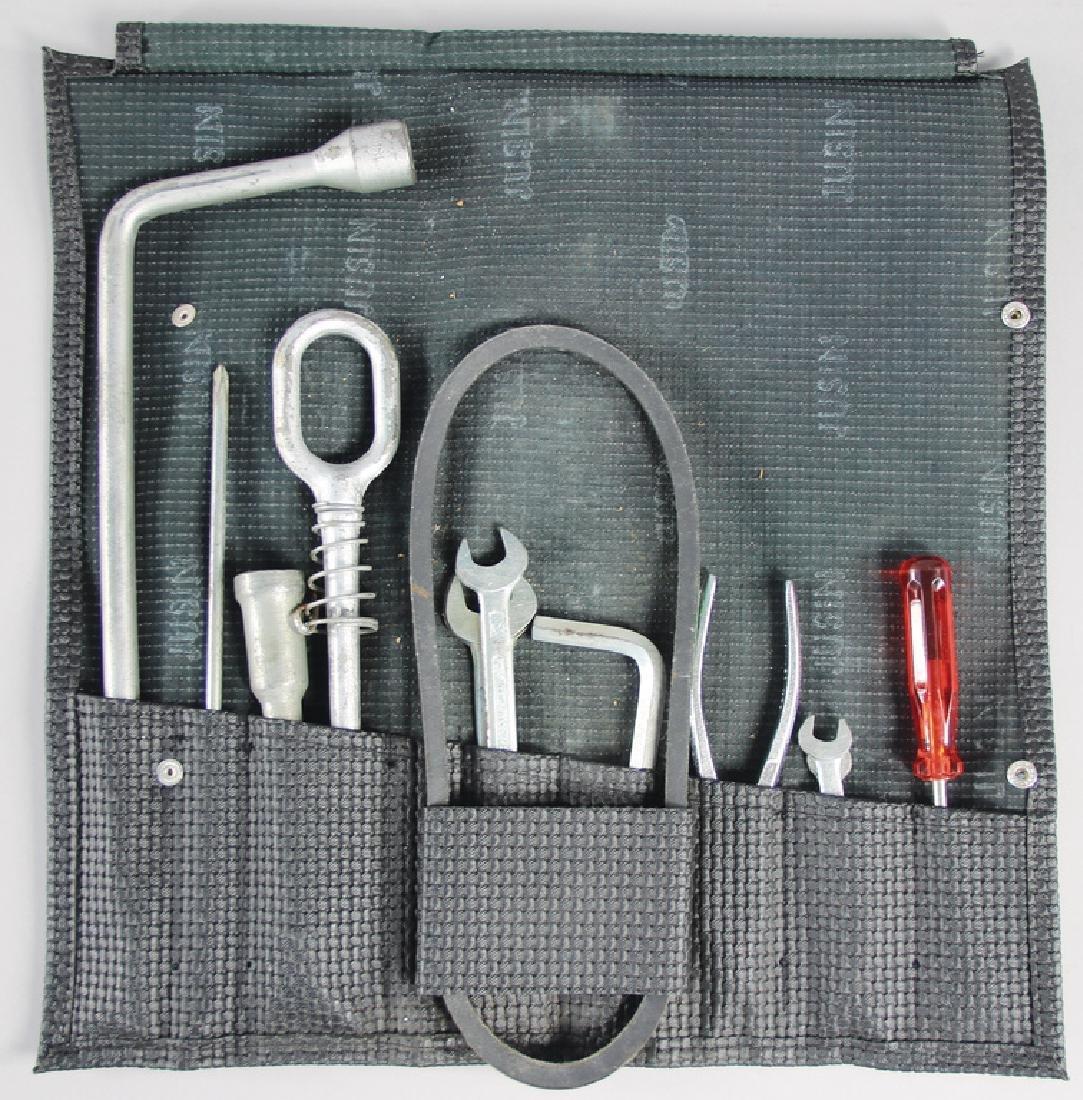 PORSCHE original toolbag for F-model, c. 1970 up to