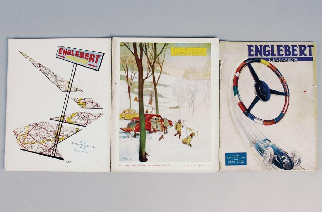 """ENGELBERT mixed lot with 3 pieces, """"Engelbert"""""""