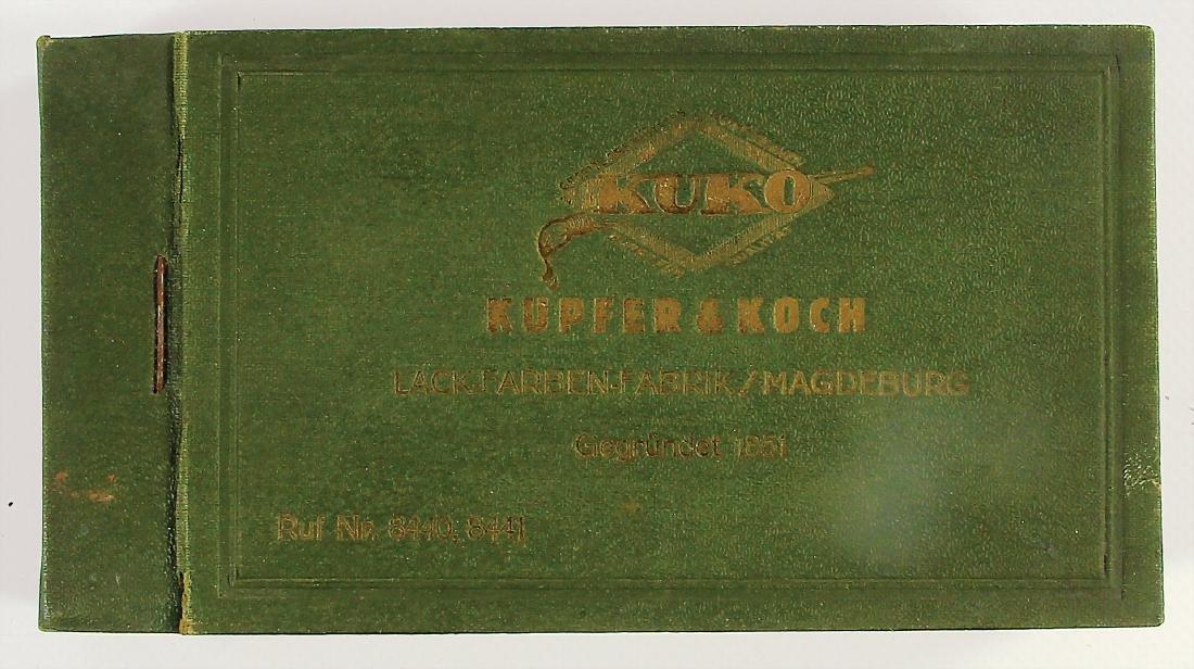 KUPFER & KOCH (KUKO) LACKFARBENFABRIK Magdeburg, early