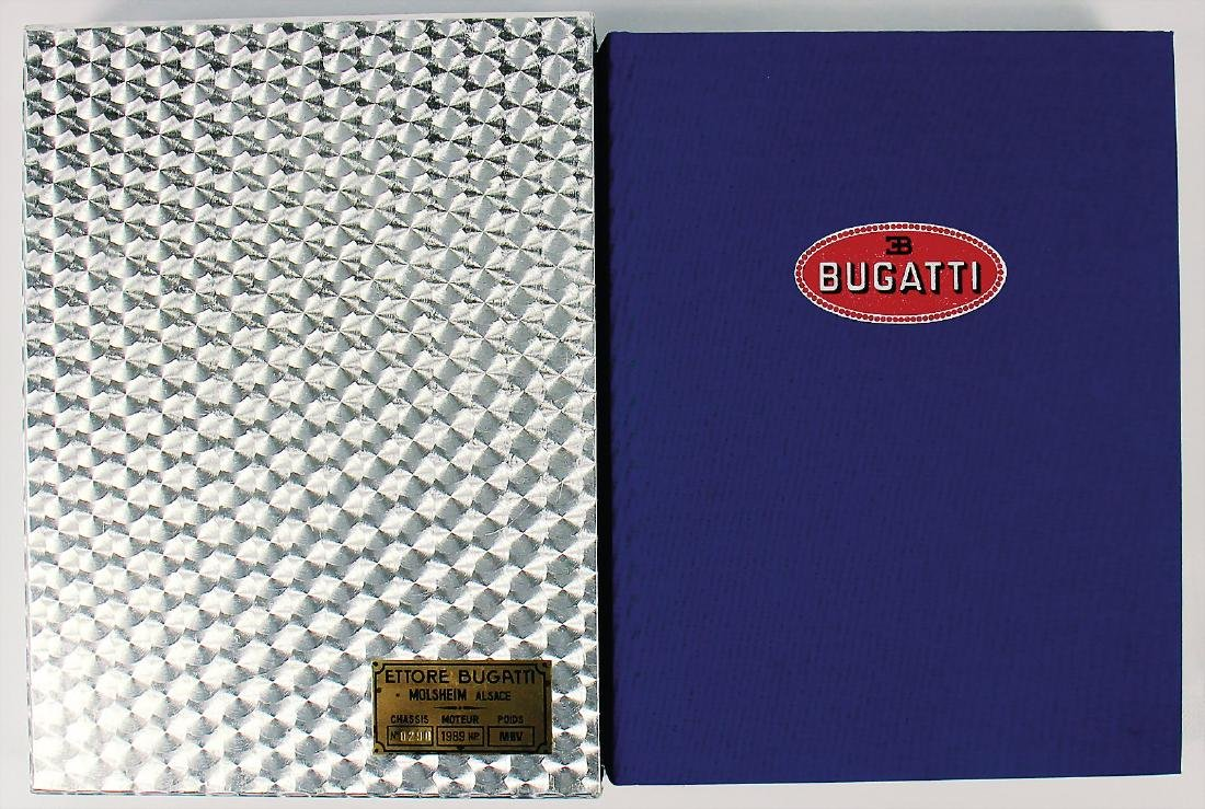 BUGATTI limited book (0290) about the Bugatti Story by