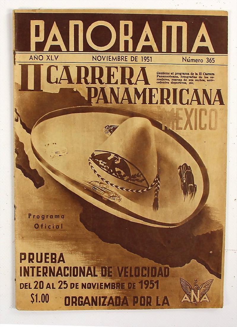 CARRERA PANAMERICANA MEXICO original programme booklet