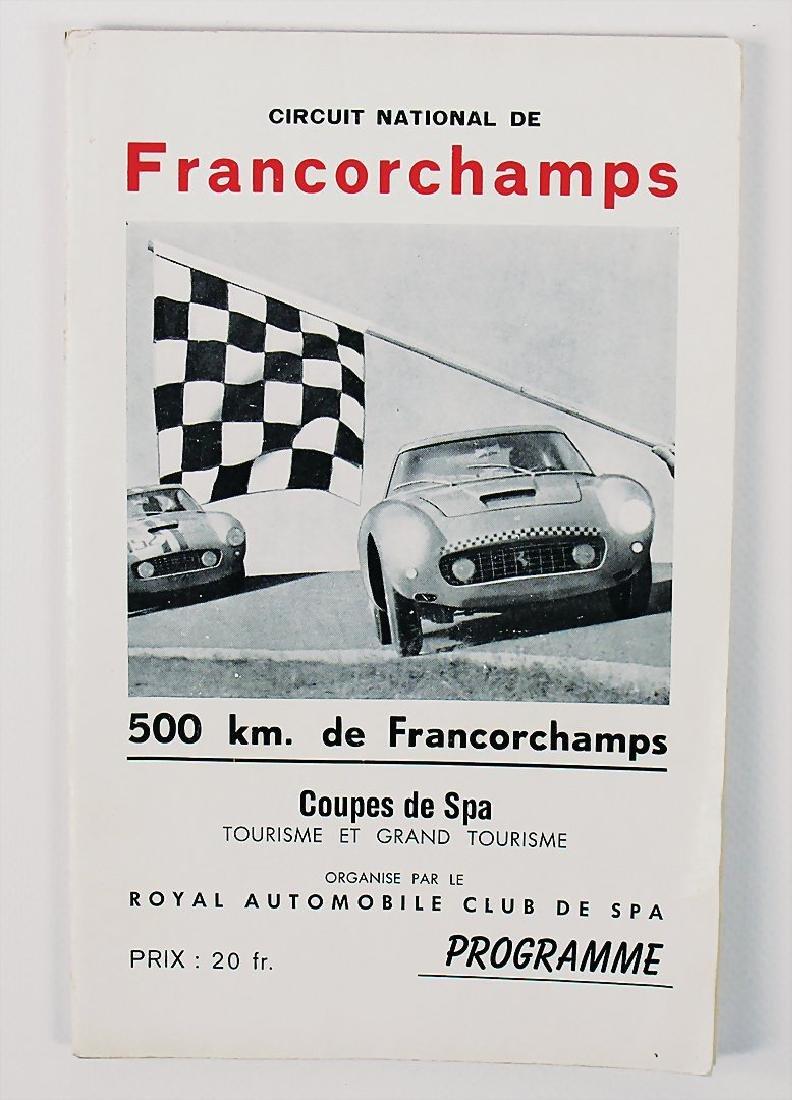 racing programme 500KM des Francorchamps,