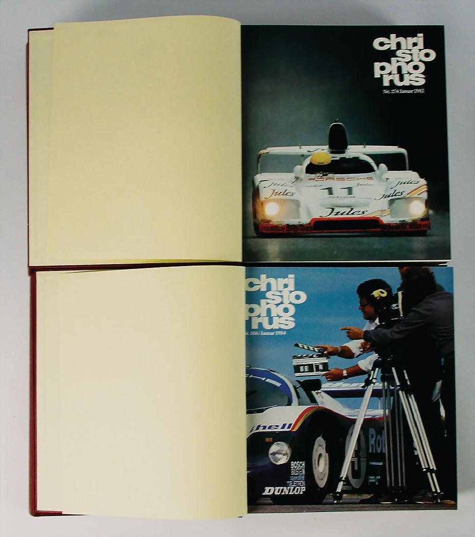"PORSCHE mixed lot of 8 bound issues ""Christophorus"" , - 2"