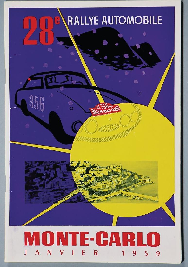 "racing programme ""28. Rallye Automobile Monte Carlo"""