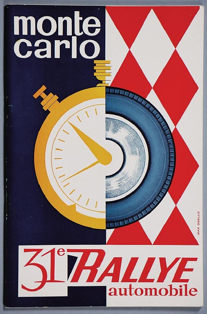 "racing programme ""31. Rallye Automobile Monte Carlo"""