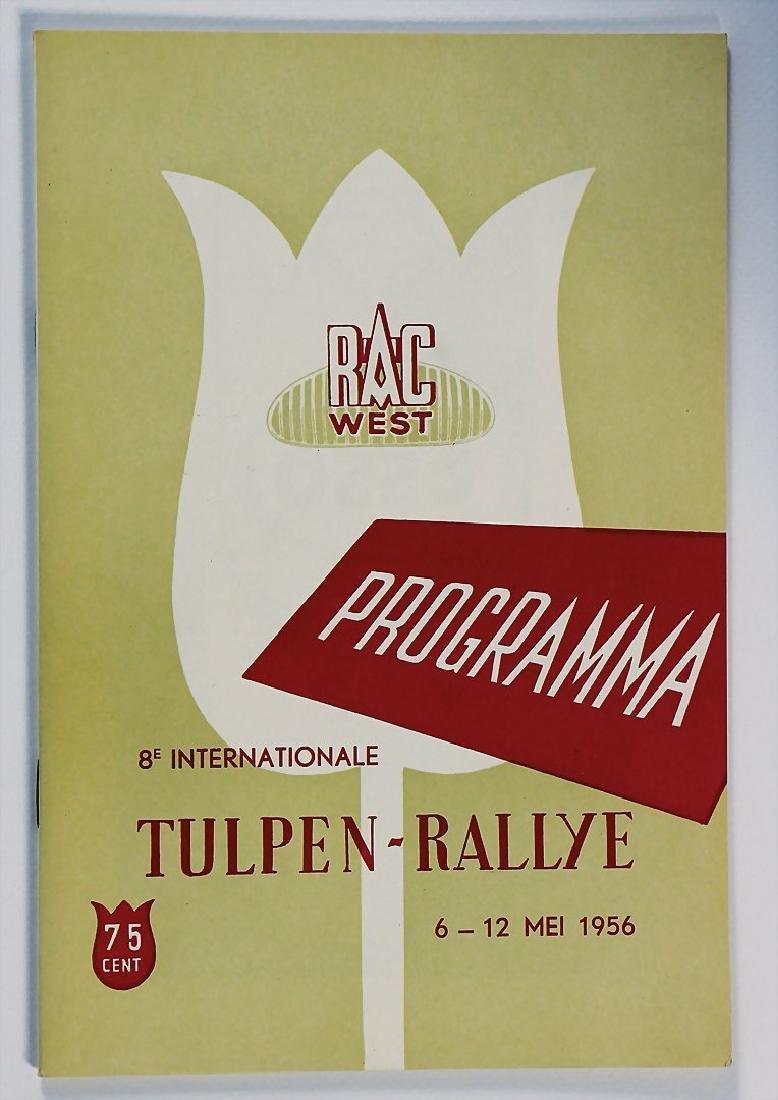 """racing programme """"8. Internationale Tulpen Rallye"""