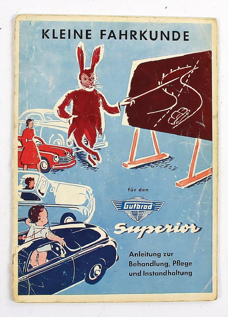 """GUTBROD issue March 1953, """"Anleitung zur Behandlung,"""