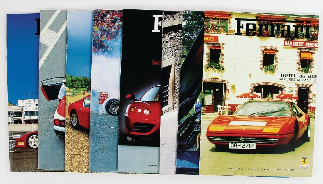 "FERRARI mixed lot of 8 issues of the magazine ""Ferrari"