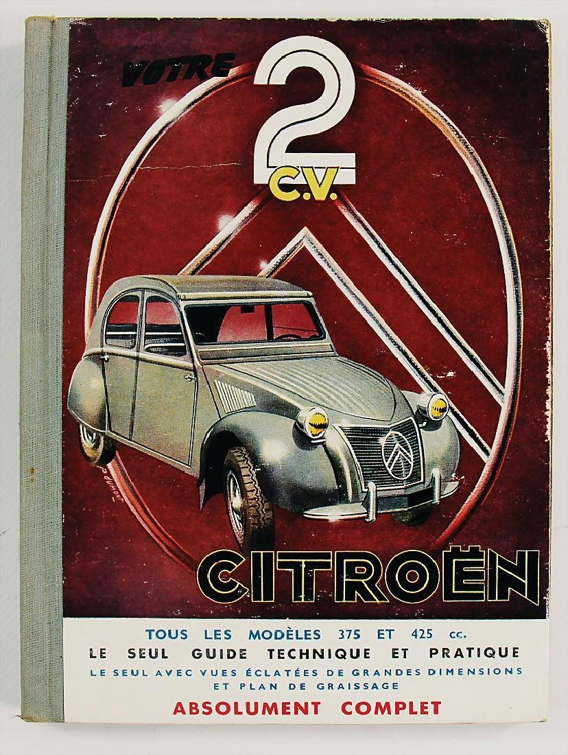 CITROEN guide for repair for the Citroën 2CV models