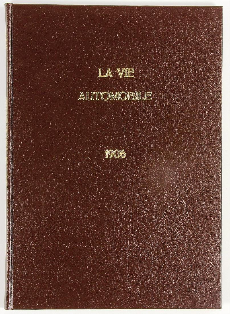"magazine ""La Vie Automobile"", year 1906, book made by a"