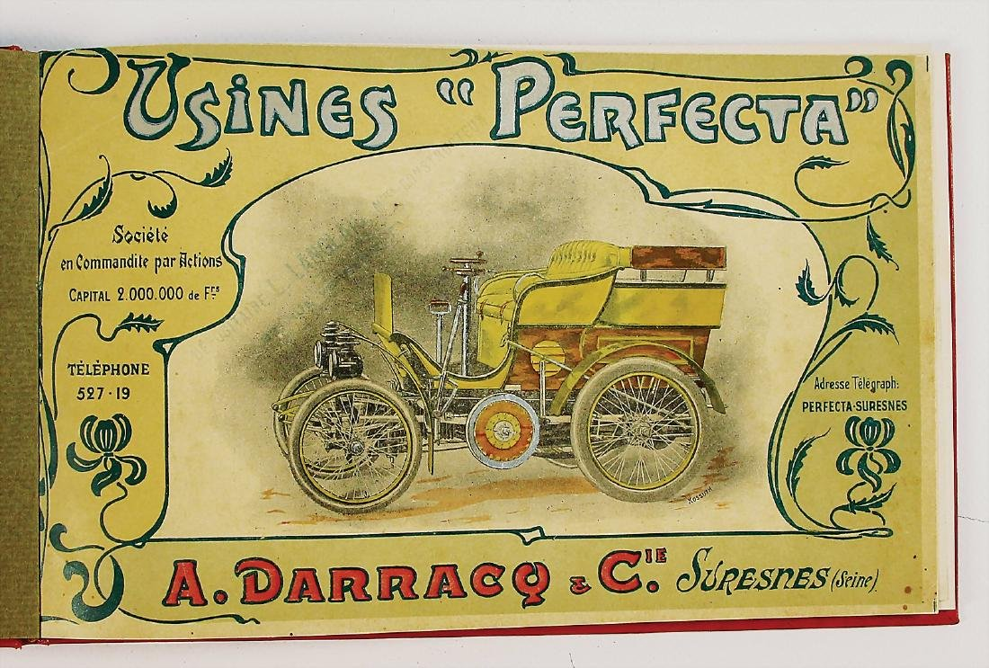 DARRACQ original catalog Darracq Perfecta 1899, among