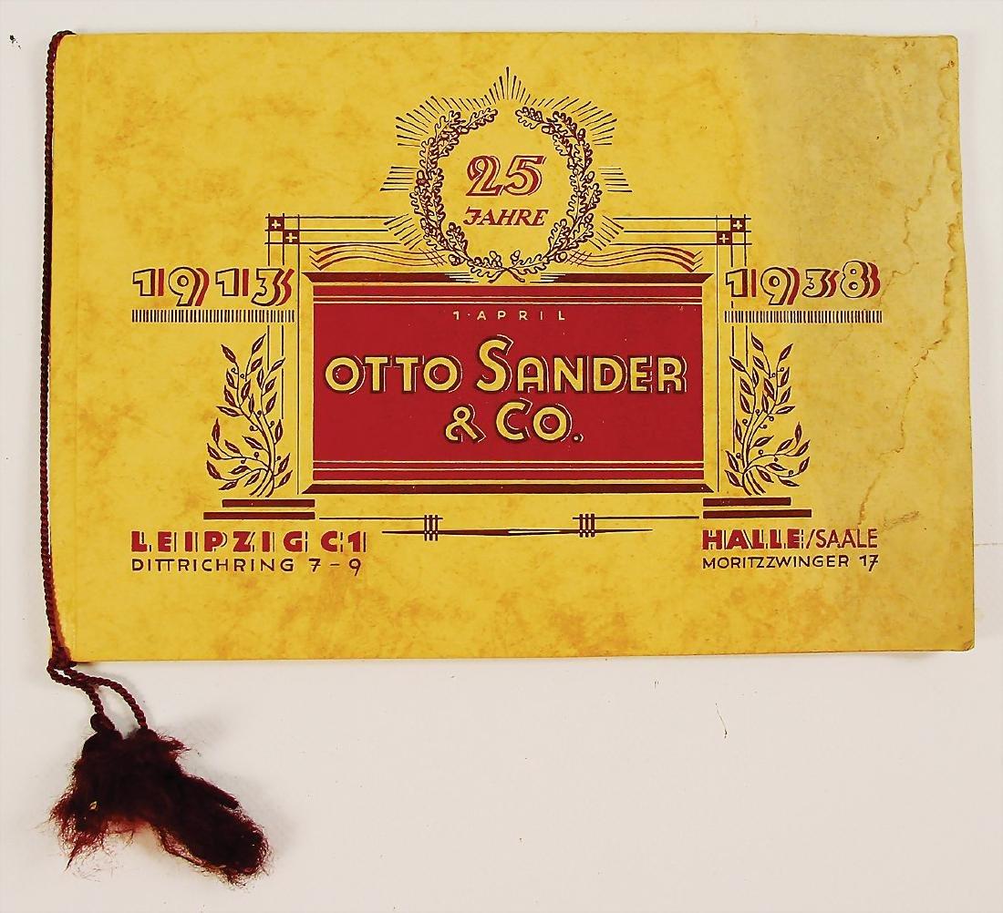 OTTO DANDER exclusive catalog 25th anniversary Otto
