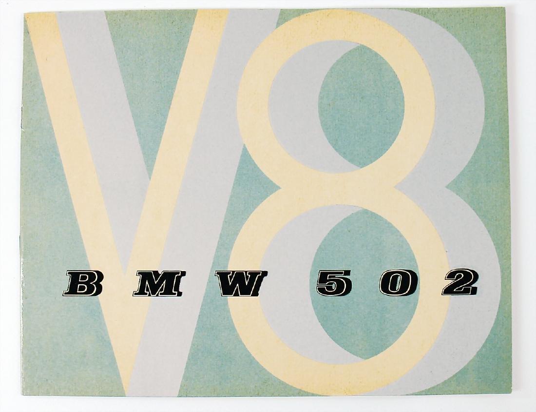 BMW sales catalog BMW type 502 for 2.6/3.2 litre (V8),