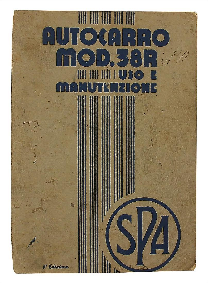 SPA operating instruction Autocarro modern 38 R (Uso e