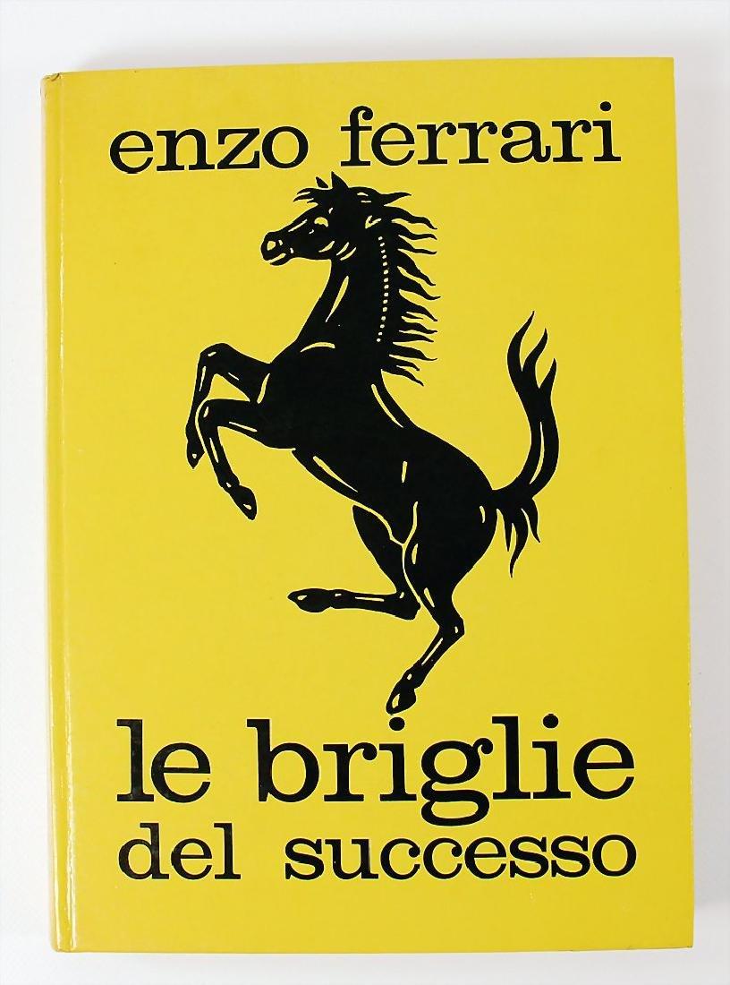 """book: Enzo Ferrari """"Le Briglie del Successo"""", in"""