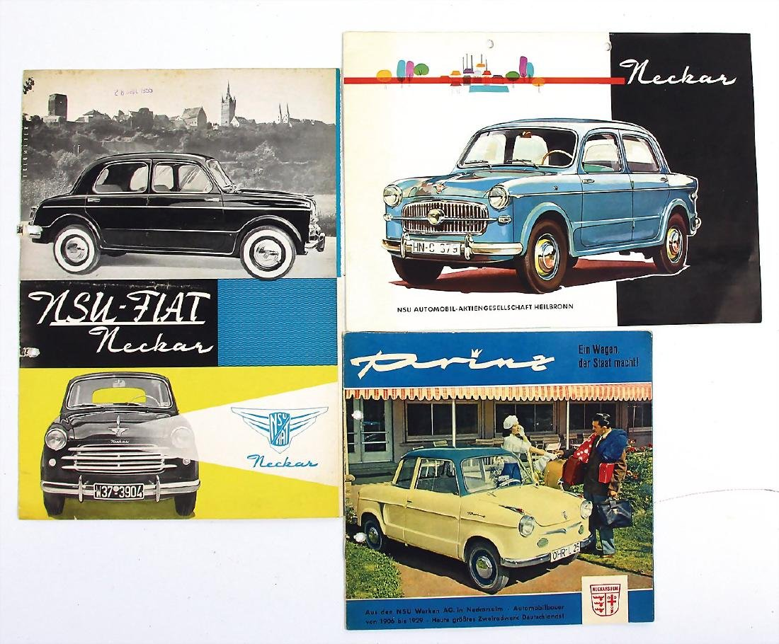 NSU mixed lot with 3 pieces, No. 1: sales brochure