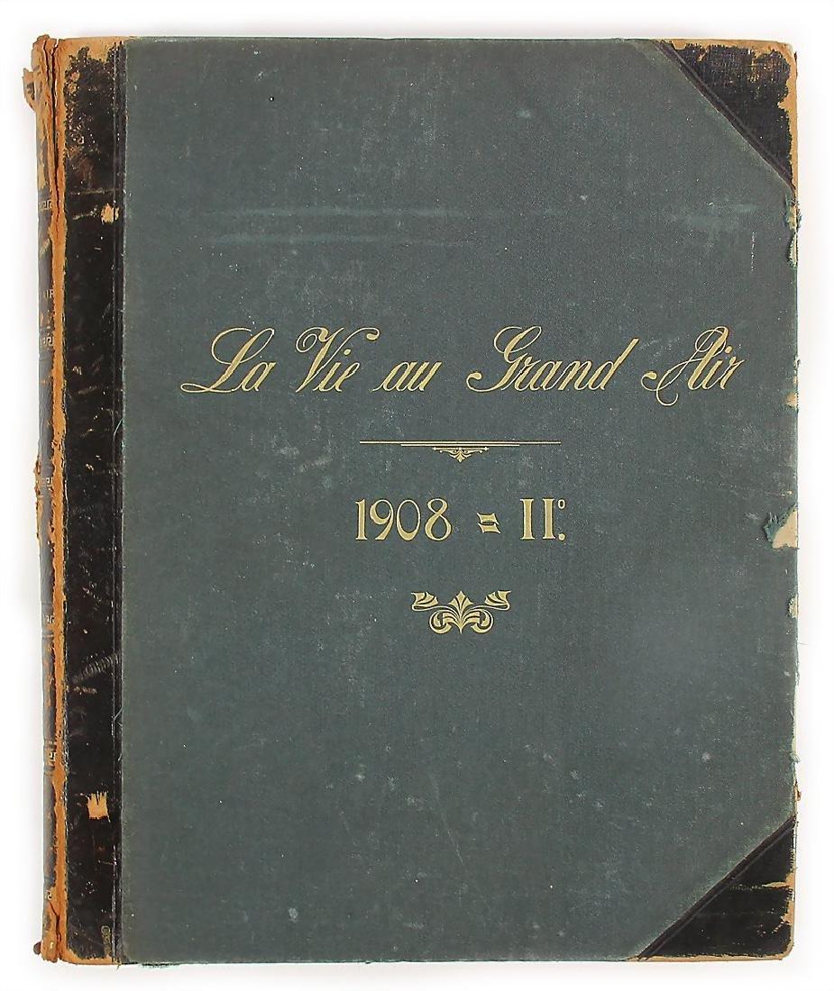 "magazine ""La Vie au Grand Air"" 1908 (II.), bound,"