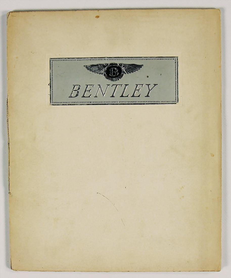 BENTLEY sales catalog Great Britain 1931, Bentley Mark