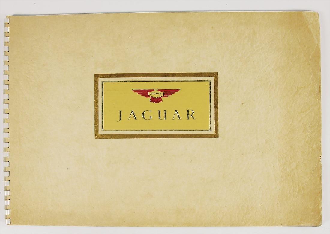 JAGUAR large-sized sales catalog with model program