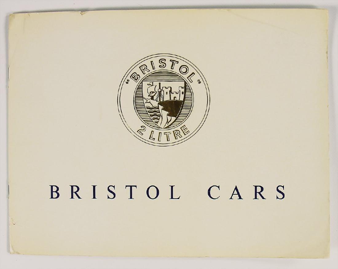 BRISTOL sales catalog Bristol type 405 from 1956,