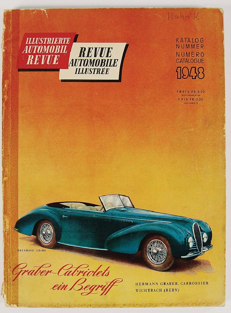 "AUTOMOBIL REVUE magazine ""Automobil Revue"", catalog No."