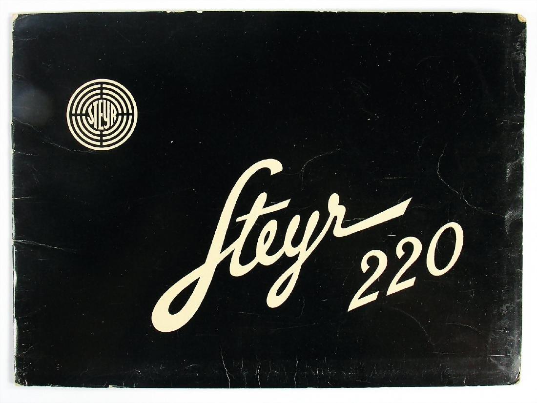 STEYR offer portfolio Steyr type 220 from 1939,