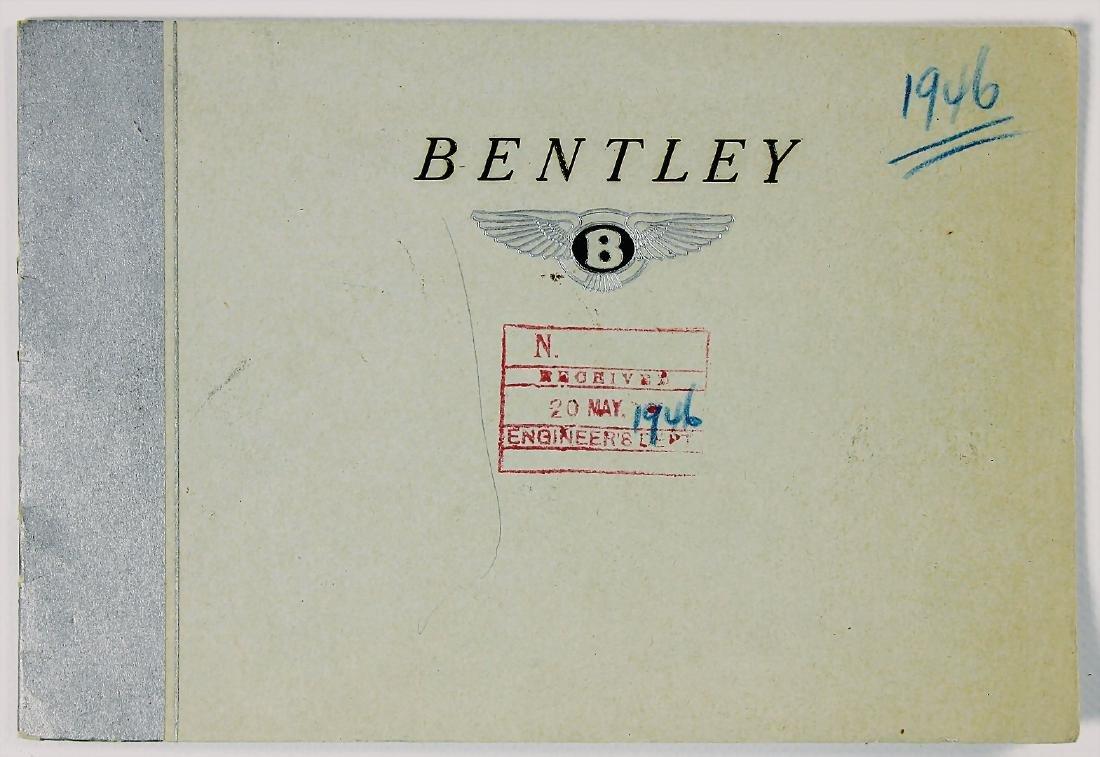 BENTLEY sales brochure/sales catalog for type Bentley