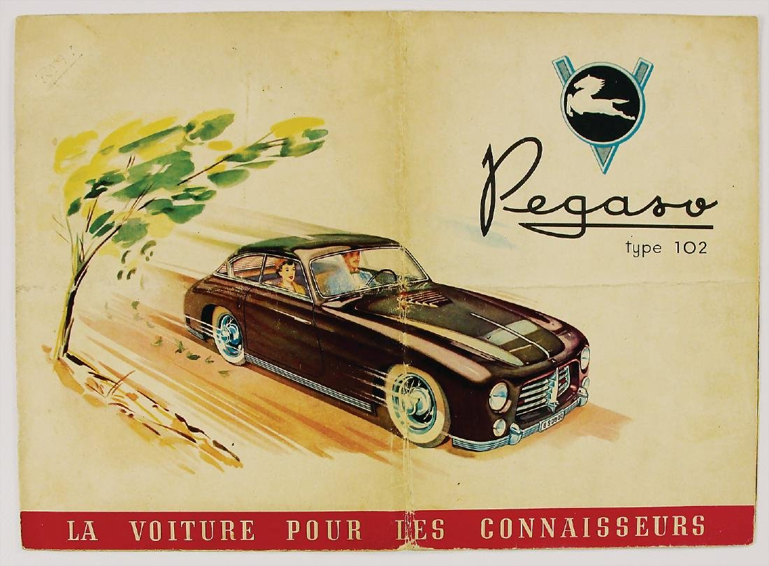 PEGASO sales brochure Pegaso type 102, 6 pages, French