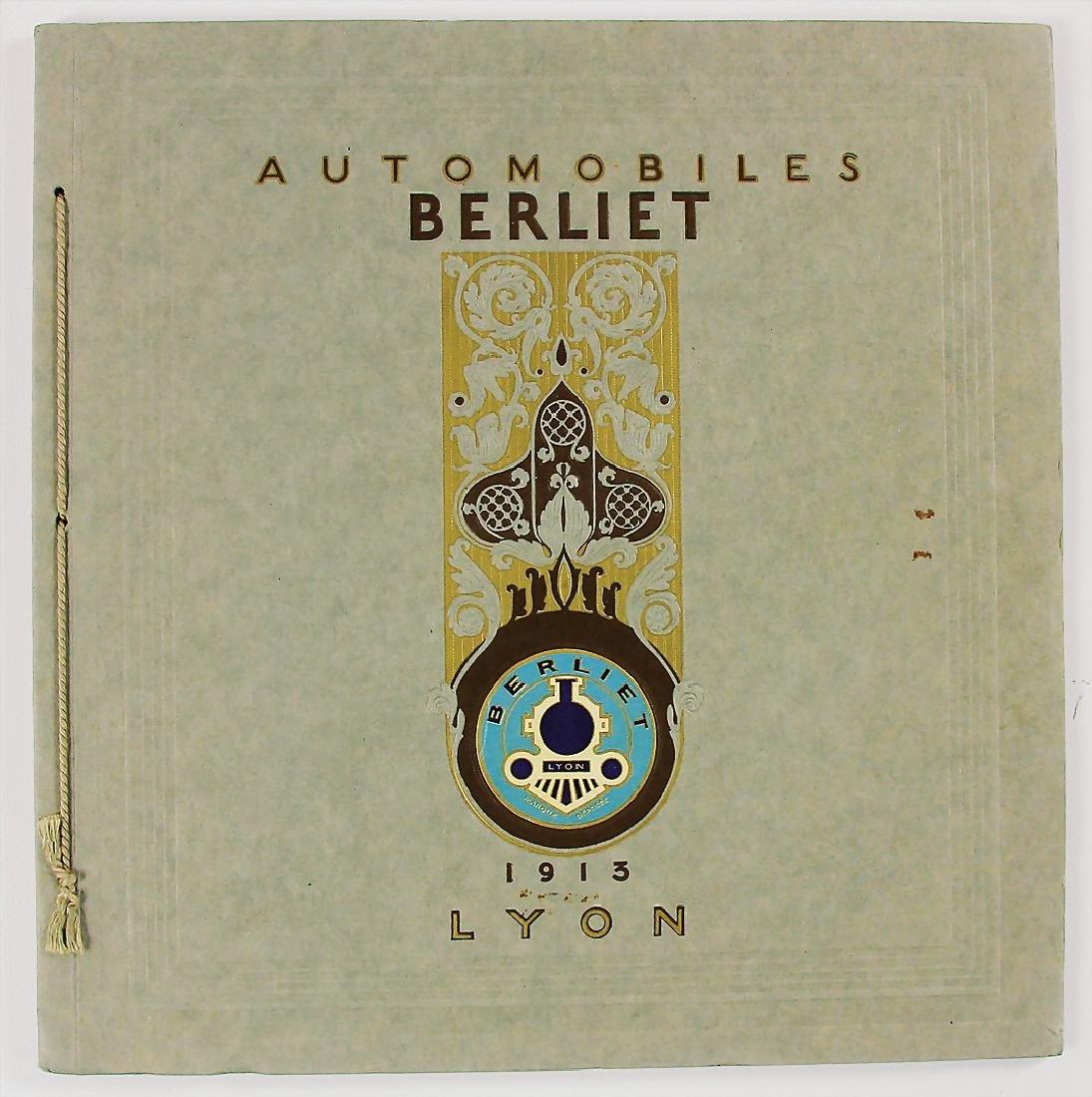 BERLIET exclusive catalog Berliet Automobiles, series