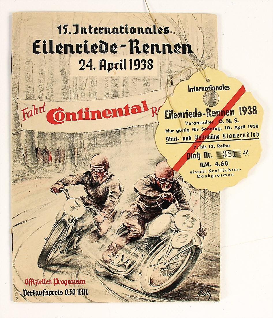 15. Internationales Eilenriede-Rennen April 1938, good