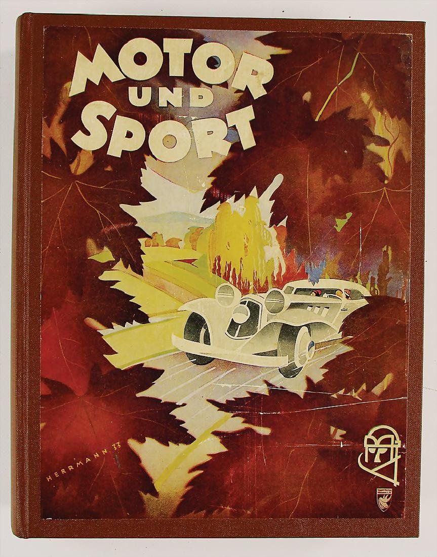 MOTOR UND SPORT mixed lot of 25 editions of the