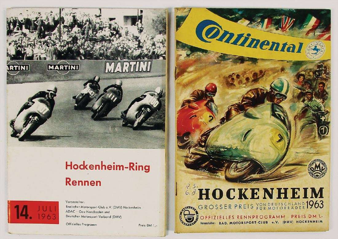 mixed lot with 2 pieces, programmes, among it Grand