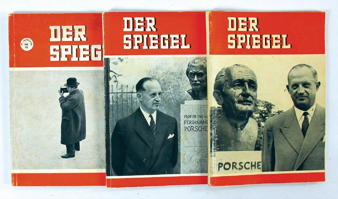 """DER SPIEGEL mixed lot with 3 issues magazine """"Der"""