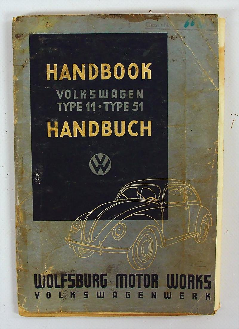 VOLKSWAGEN manual for type 11/type 51 with technical