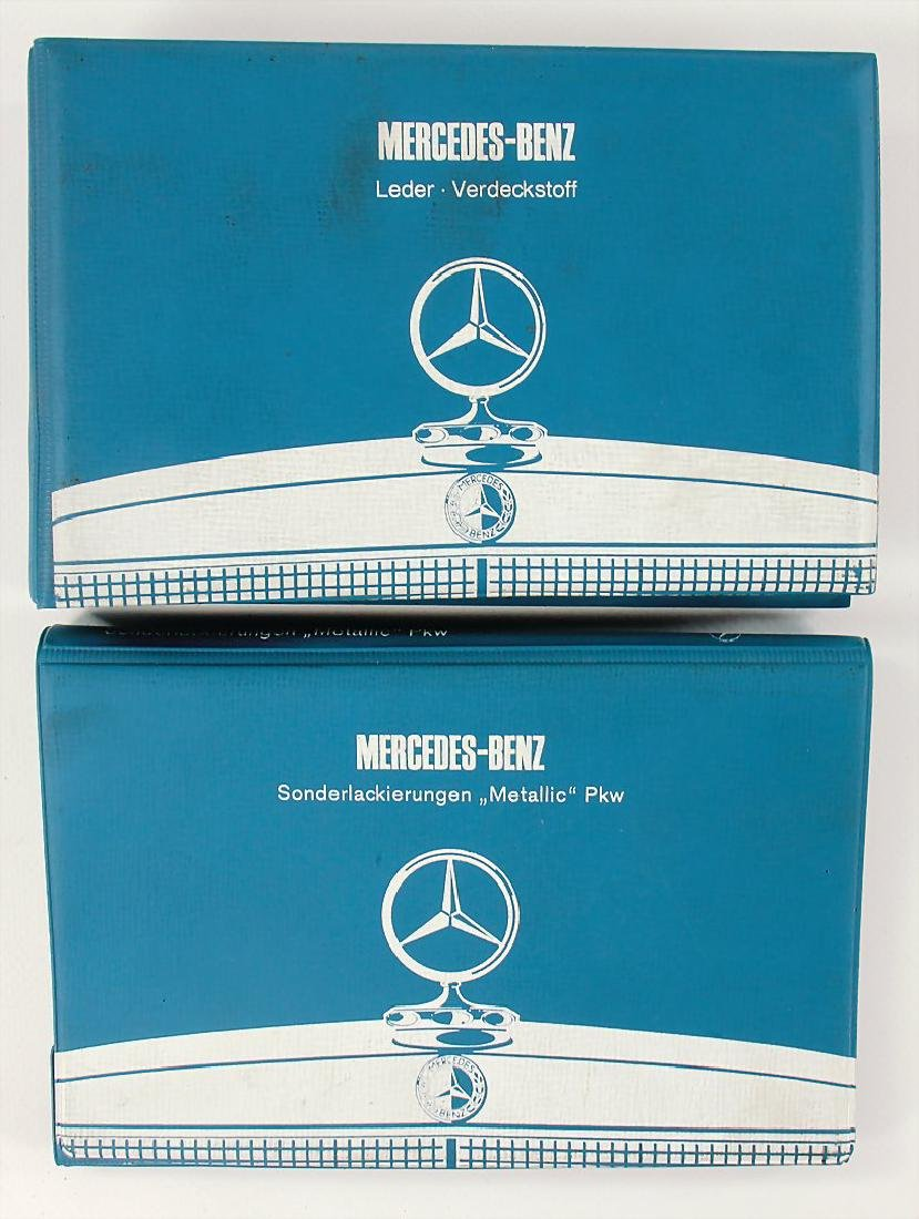 MERCEDES-BENZ mixed lot with 2 pieces, among it No. 1:
