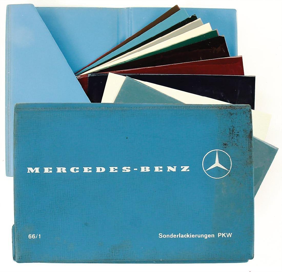 MERCEDES-BENZ color catalog for special varnishes