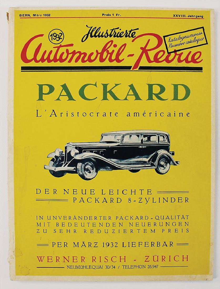 "magazine ""Illustrierte Automobil-Revue"", issue March"