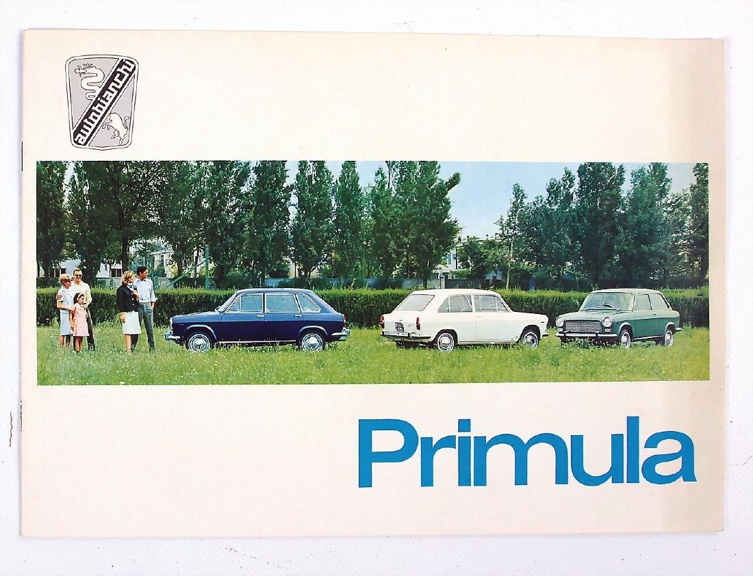 AUTOBIANCHI sales brochure Autobianchi type Primula, 8