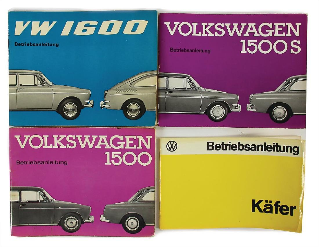 VOLKSWAGEN 4x operating instruction VW for different
