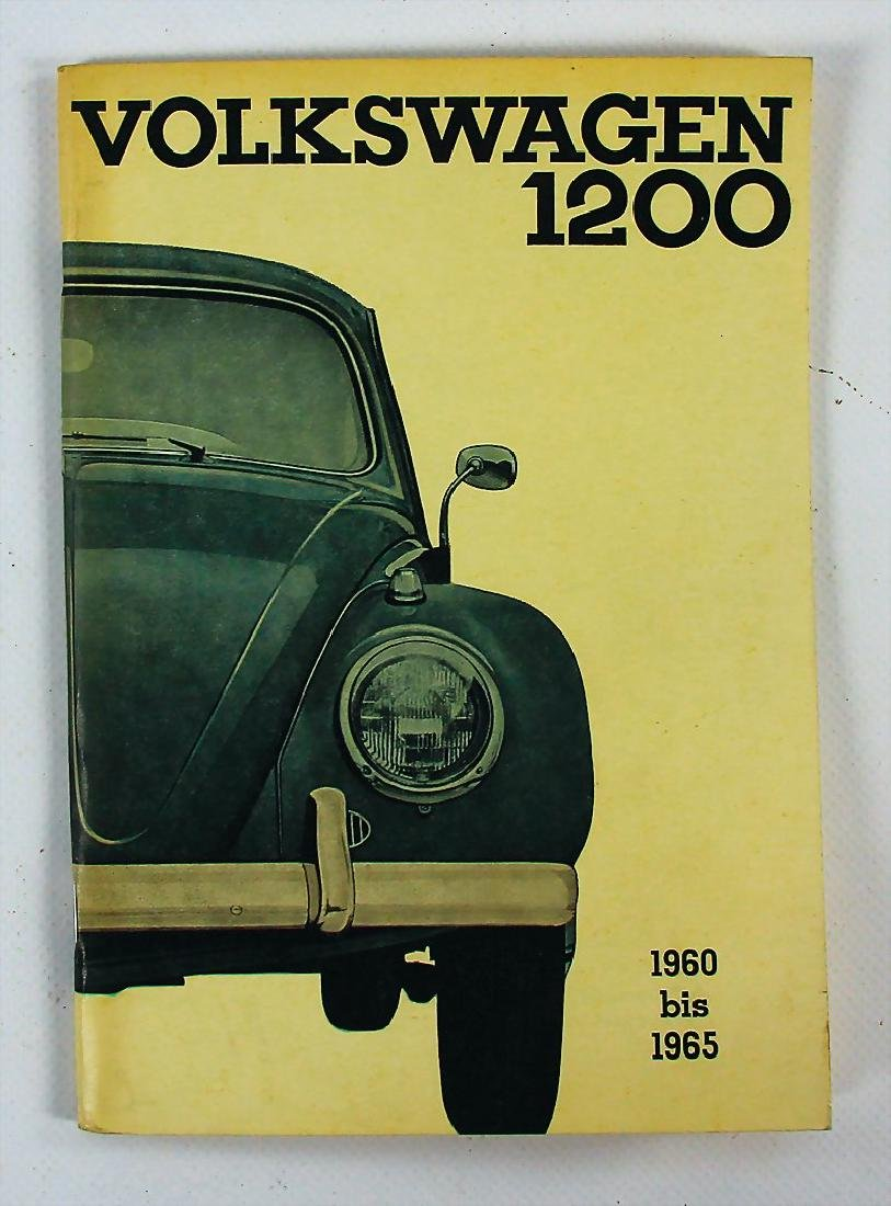 VOLKSWAGEN operating instruction Volkswagen type 1200