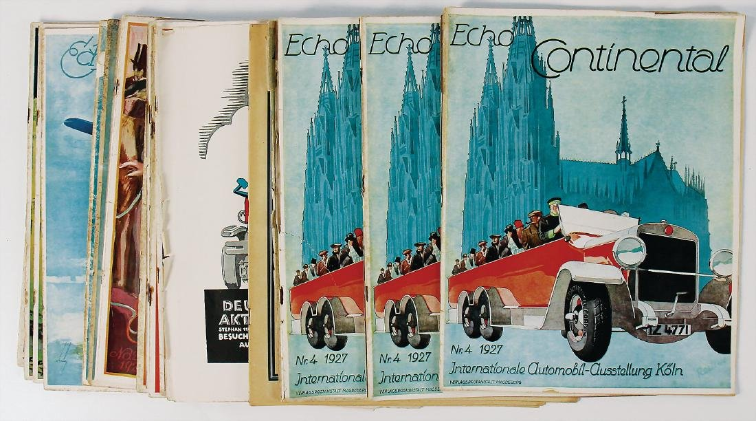 """magazine """"Echo Continental"""", all in all 14 issues,"""