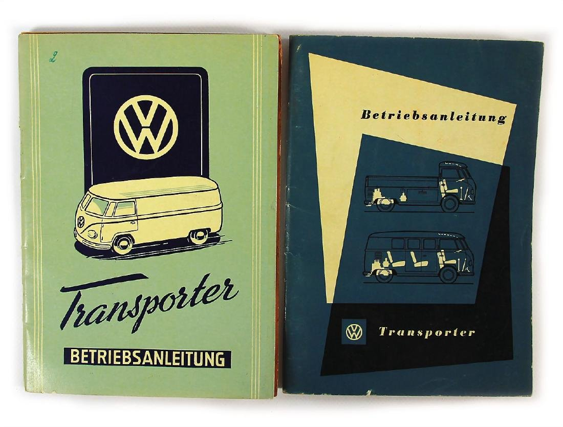VOLKSWAGEN mixed lot with 2 pieces, No. 1: operating