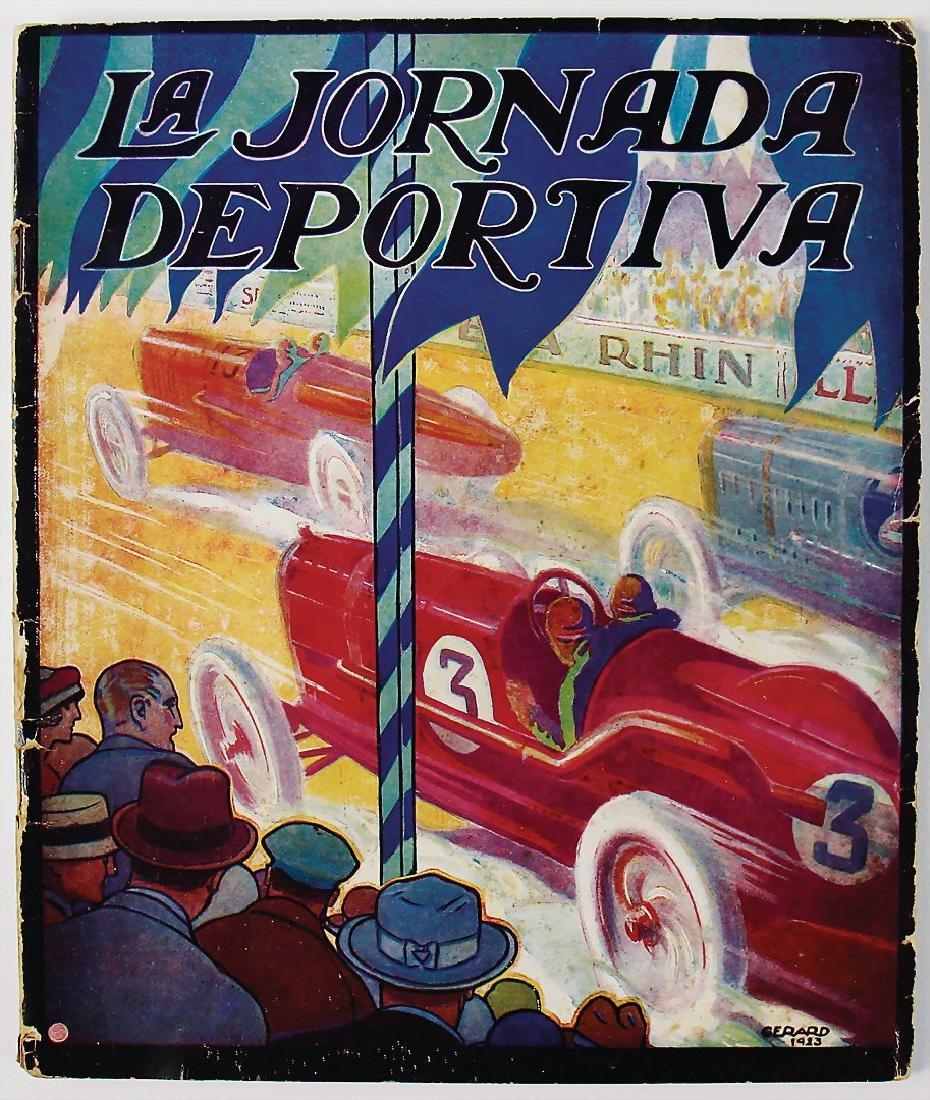 """magazine """"La Jornada Deportiva"""", c. 1923/24, 60 pages,"""