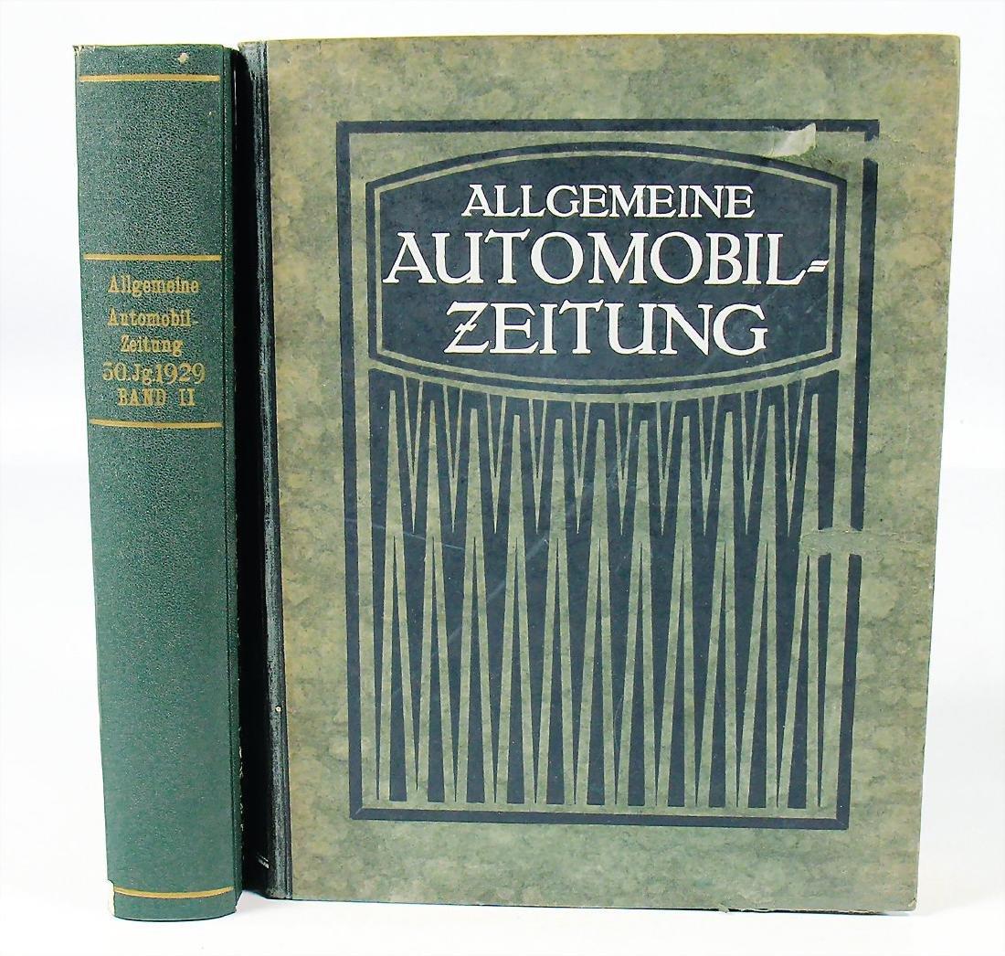 """magazine """"Allgemeine Automobilzeitung"""", year 1929 in 2"""