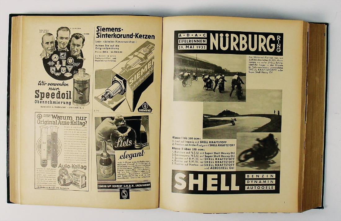 """magazine """"Allgemeine Automobilzeitung"""", year 1932, the"""