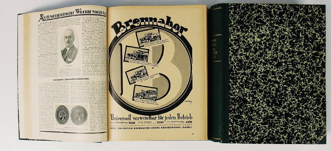 """magazine """"Allgemeine Automobilzeitung"""", year 1928, in 2"""