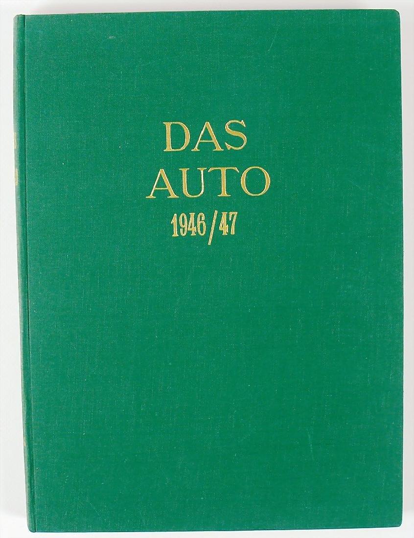 """magazine """"Das Auto"""", 1st year 1946/47, bound, with"""